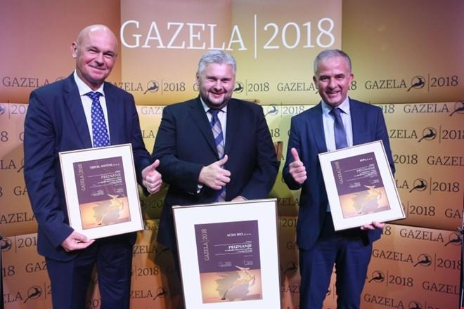 Podjetje ACIES BIO je postalo GAZELA osrednje Slovenije 2018
