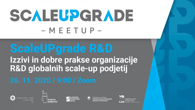 MeetUp: ScaleUPgrade R&D