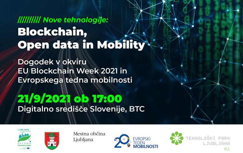 OKROGLA MIZA: Nove tehnologije: Blockchain, Open data in Mobility