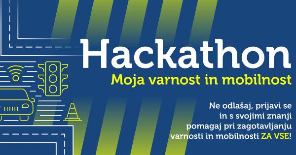 "Hackathon ""Moja varnost in mobilnost"""