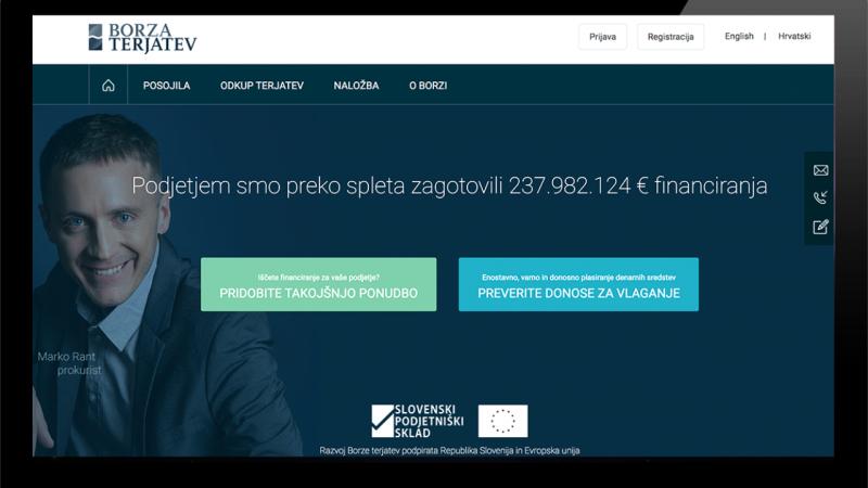 Borza Terjatev: Bančništvo delamo lepše in bolj simpatično