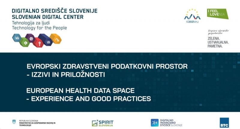 Dnevi eZdravja - Podatkovni prostori in digitalna preobrazba zdravstva