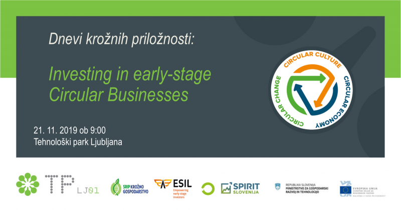 Seminar: Investing in early-stage circular businesses