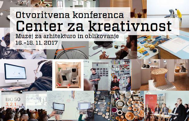 Otvoritvena konferenca: Center za kreativnost