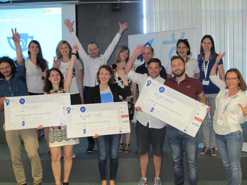 Znani so finalisti slovenskega državnega finala ClimateLaunchpad 2018