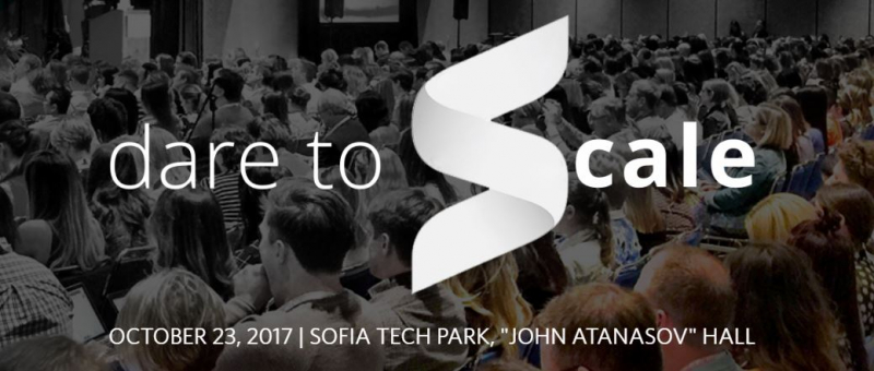 Dare to Scale konferenca
