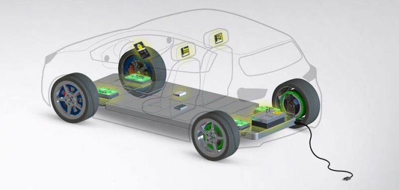Podjetje Elaphe je na BMW X6 predstavilo visokozmogljive kolesne motorje za električna vozila