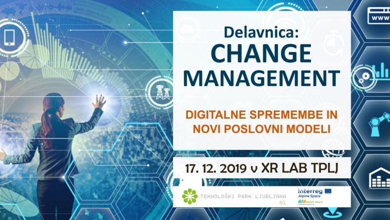 Strateško razvojna delavnica - Change management, digitalne spremembe in novi poslovni modeli