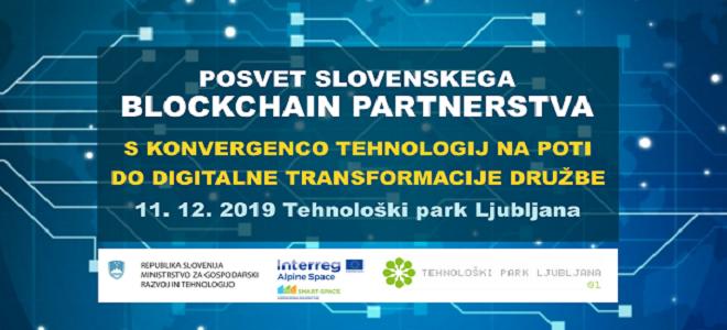 Posvet Slovenskega Blockchain Partnerstva: S konvergenco tehnologij do digitalne transformacije družbe
