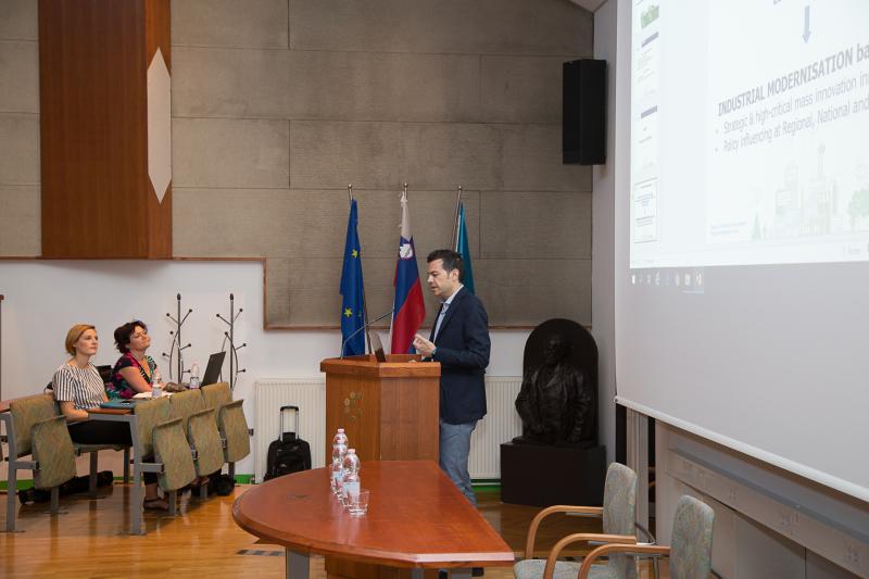 Predstavitev Vanguard Iniciative in projekta Greenomed