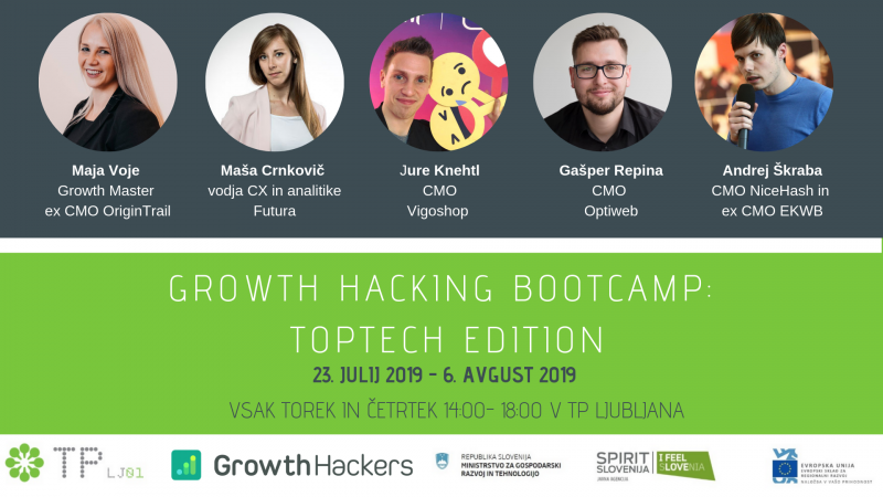 Growth Hacking Bootcamp: TopTech Edition
