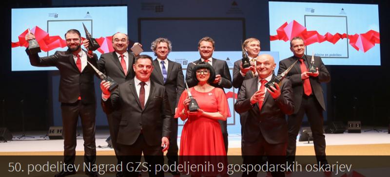 Nagrada GZS za izjemne dosežke v roke našemu članu,  dr. Marku Plešku
