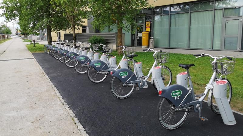 BicikLJ tudi v Tehnološkem parku