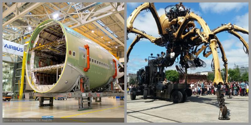 Nore tehnologije, Airbus in Tehnološki park Ljubljana