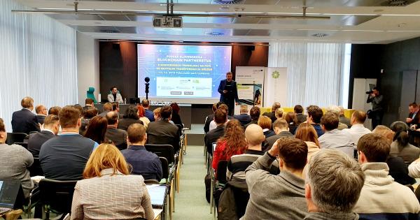 Sporočilo za javnost: Slovenija je svetovni inkubator razvoja blockchain tehnologij