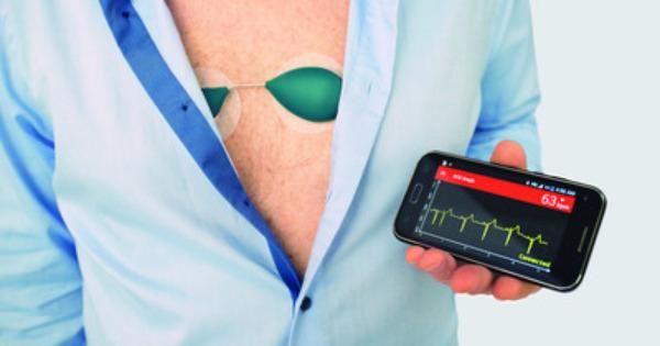 Digitalni merilec SAVVY EKG za zgodnje odkrivanje srčnih aritmij