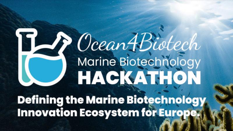 Sodelujte na prvem Ocean4Biotech Hackathonu