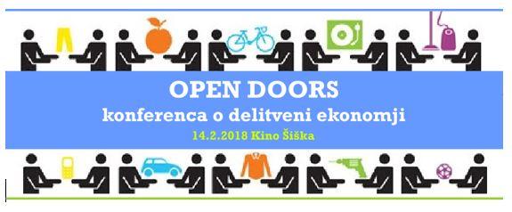 OPEN DOORS konferenca o  delitveni ekonomiji