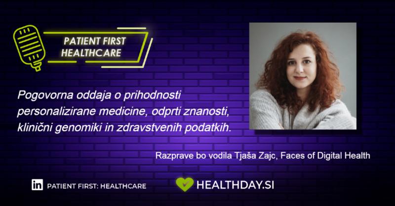 Pogovorna oddaja Patient First: Healthcare