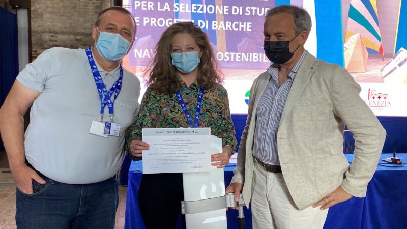 Izvenkrmni e-motor Remigo med finalisti MUVE Yacht Projects - Salone Nautico Venezia 2021