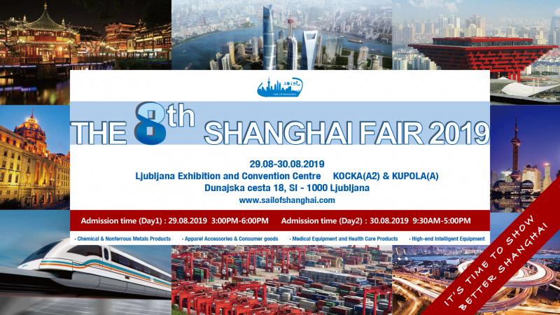 Poslovno srečanje Shanghai 2019 v Ljubljani