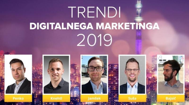 Trendi digitalnega marketinga 2019