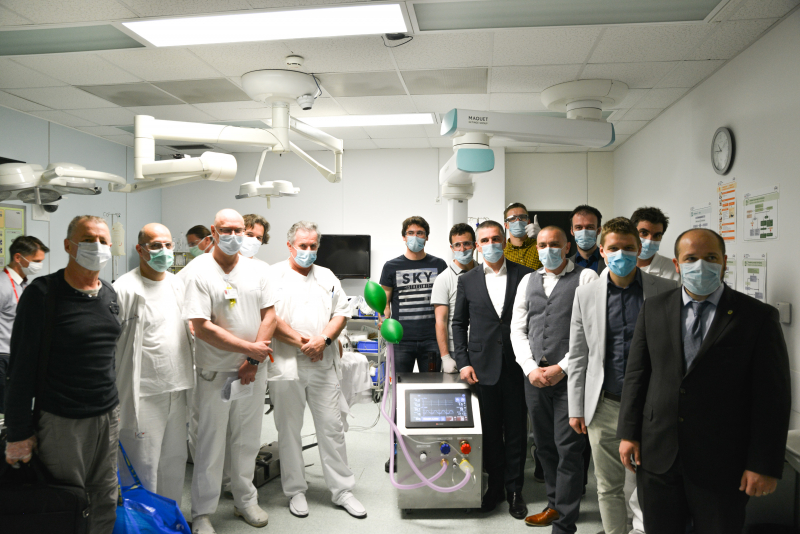 Iniciativa za razvoj respiratorja DIHAM