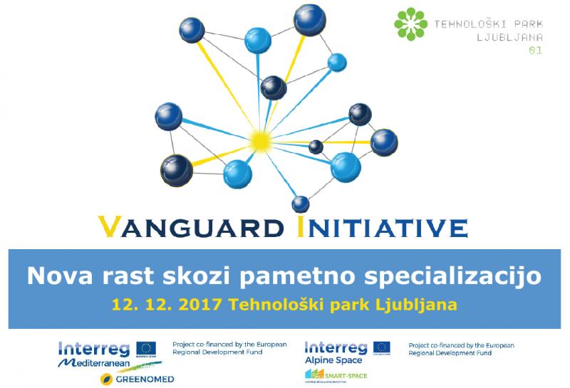 Konferenca: Priložnost za rast in sodelovanje R&I deležnikov v evropskem tematskem partnerstvu S3 in Vanguard iniciativi