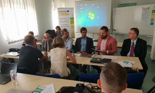 Člana Tehnološkega parka Ljubljana sta se predstavila strokovnjakom na področju marikulture