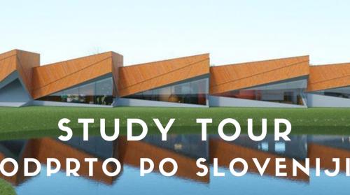 Vabilo na OPEN STUDY TOUR po Sloveniji